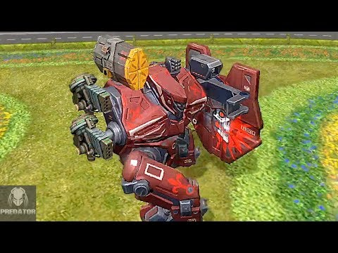 MRK II GALAHAD GAMEPLAY | Old School Bots Dominate On Shenzhen | War Robots