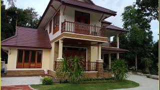 Repeat youtube video แบบบ้านสองชั้นไทยประยุกต์บ้านป่าตาล BP06