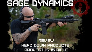 Sage Dynamics Review: Head Down Products Provectus 15 rifle