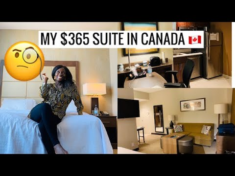 Calgary, Alberta Travel Vlog | First Time In CALGARY! 🇨🇦| $365 MINIMALIST CALGARY Apartment Tour