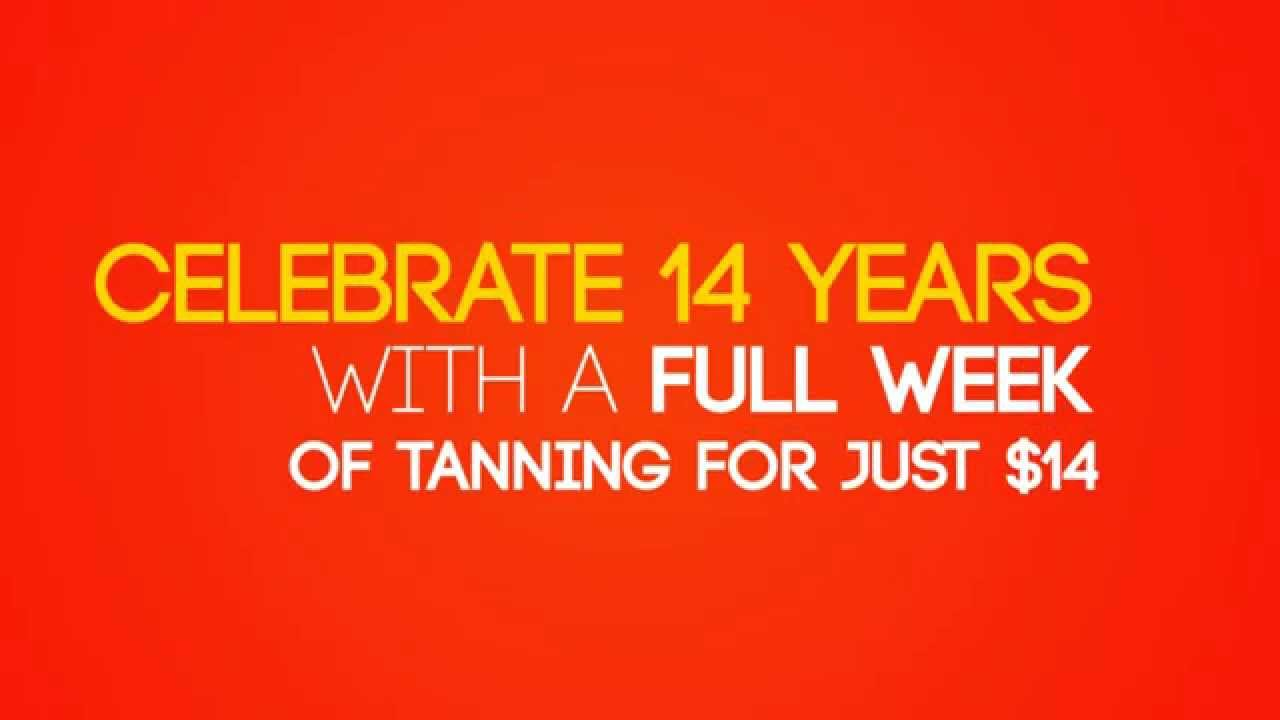 One Week Unlimited Tanning 14 European Tan Salt Lake City Utah