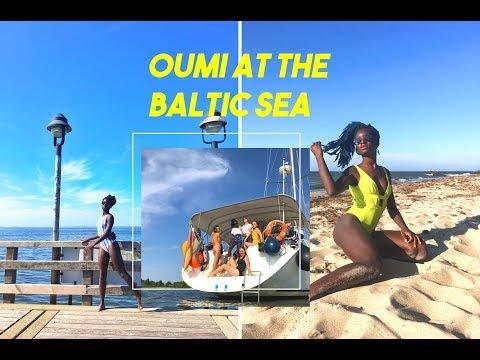 Oumi at the Baltic Sea