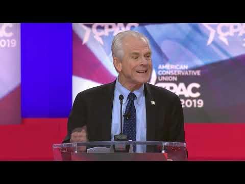 CPAC 2019 - The Honorable Peter Navarro