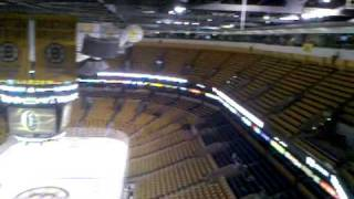 3/18/10 - Arriving On Level 9 at TD Garden