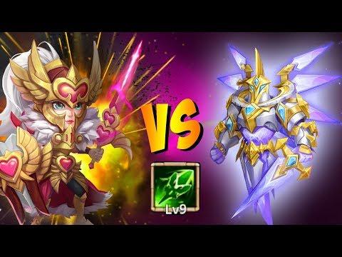 Amazing Warden Challenge Set Up Rosaleen MUST WATCH! Castle Clash