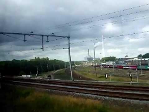 treinreis amsterdam-zaandam, zwaantje, ns, trains, tourism