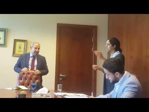 Sarie Eldin & Partners coaching law students Cairo University