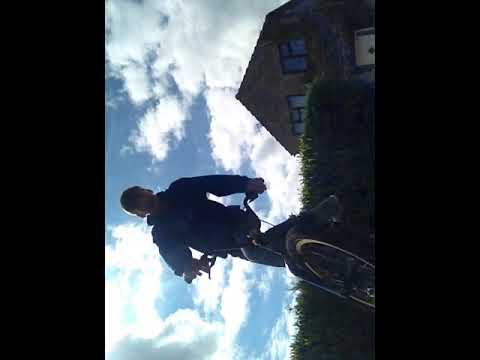 How to wheelie a BMX