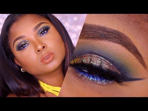 Colorful Fall makeup tutorial - Queenii Rozenblad thumbnail