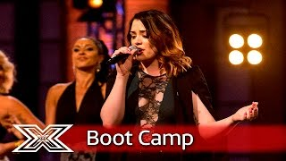 Janet Grogan performs DNCE's Cake By The Ocean  | Boot Camp | The X Factor UK 2016