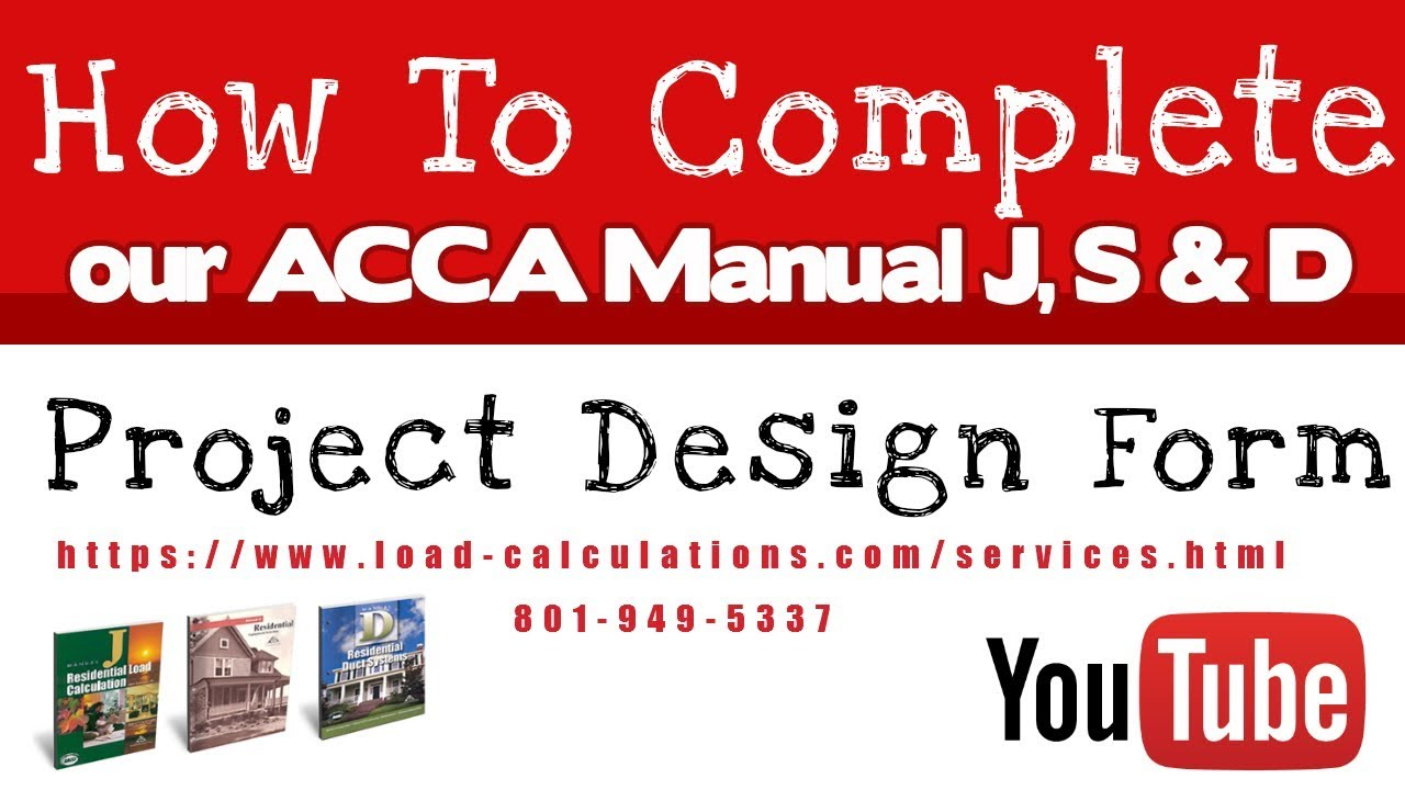 Prices Manual J Load Calculation Service | Manual J Prices