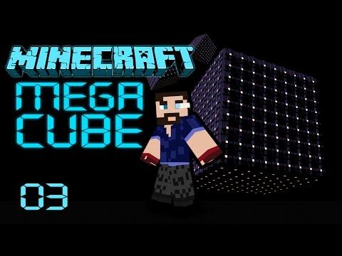[ Minecraft ] Megacube - Episode 03 - Exploration
