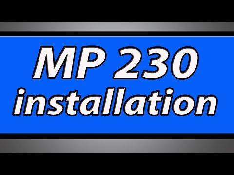 Canon Pixma MP230 Printer installation