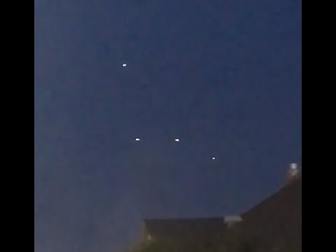 Multiple Sightings of UFOs, Salt Lake City, Utah. September 16,2017