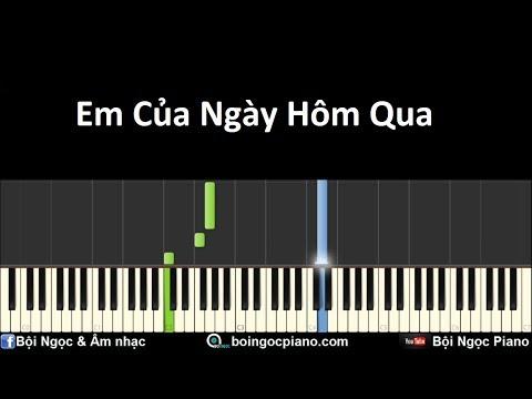 Em Của Ngày Hôm Qua - Sơn Tùng M-TP | Piano Tutorial #35 | Bội Ngọc Piano