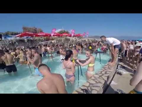 Party at Ploce Beach, Montenegro