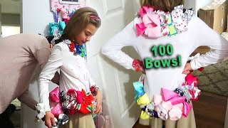 100 Bows to School!