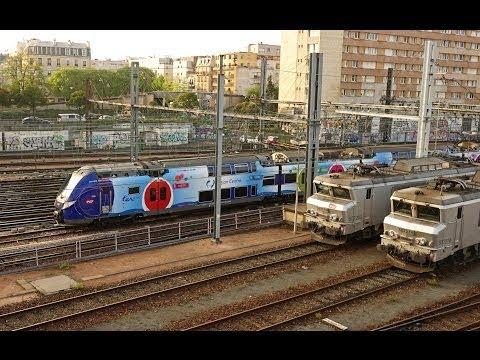 Rail Live 20. Paris Railway. Rush Hour @ Montparnasse Station.