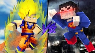 GOKU vs SUPERMAN - Versus Minecraft // FRANGO