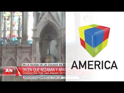 Conmoción en Belgrano por la aparición de una imagen de la Virgen