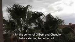 Rain and dust in Gilbert AZ (July 13th)
