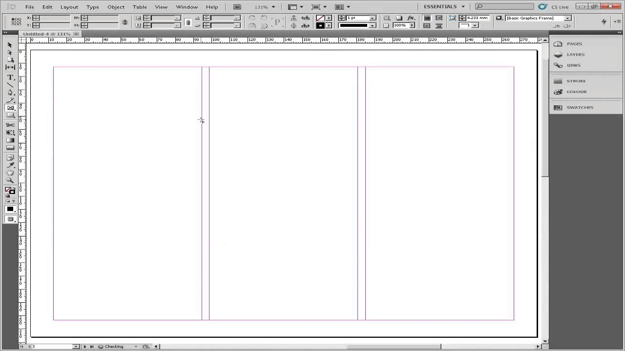 How to Make a Brochure in Adobe InDesign - YouTube