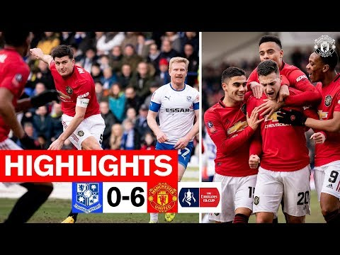 Highlights | Tranmere 0-6 Manchester United | Emirates FA Cup