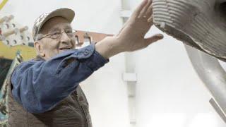 Studio Visit with Artist Frank Stella | Christie's