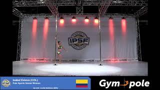 WPSC19 - Pole Sports - Senior Women - Isabel Eslava - Colombia