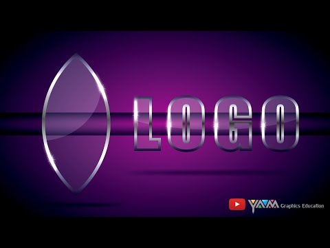 Clear Glass Effect Logo make in CorelDraw Tutorial (Eng.) thumbnail
