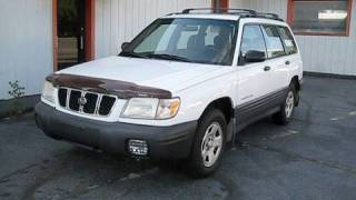 Start Up and Test Drive 2001 Subaru Forester L AWD w/ In Depth Tour and Engine Shot