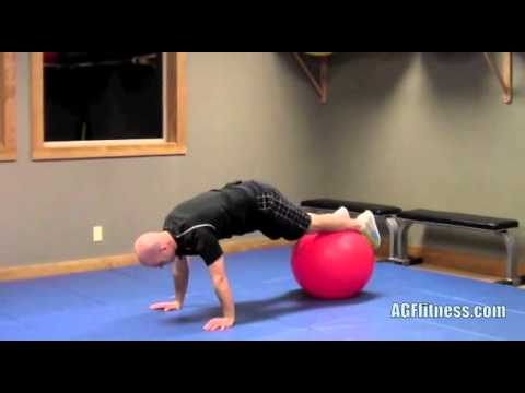 The Best Golf Performance and Fitness: Stability ball for better golf health and lower scores.