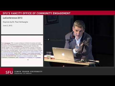 LaConference 2013 - Keynote by Dr. Paul Verhaeghe