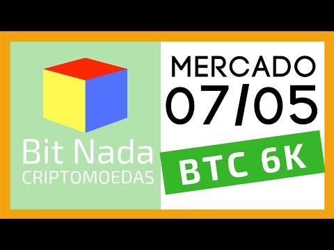 Mercado de Cripto! 07/05 Bitcoin 6.000 USD!! / BitConf