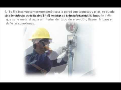 CFE: Preparacion para recibir Servicio de Energia Electrica