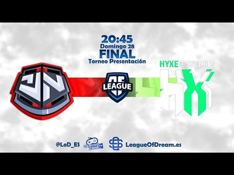 TEAM GENETIC VS HYXE ESPORTS | FINAL |TORNEO PRESENTACIÓN LoD