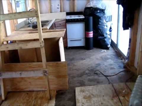 Tiny House For Under 5000 Under Construction Youtube