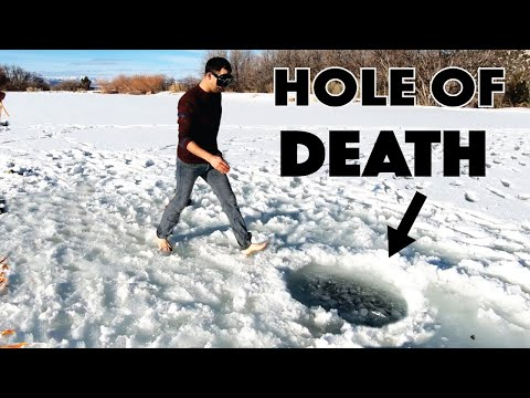 Falling Through The Ice Was Worse Than We Thought It Would Be.