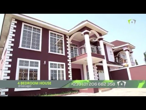4 BEDROOMS HOUSE at EAST LEGON