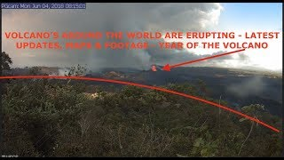 Another Volcano Erupts, Over 2000 Missing, Live Kilauea Footage & Yellowstone Updates thumbnail