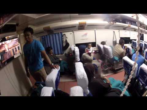 Kereta Api Eksekutif Bima: Trip Malam Cirebon-Yogyakarta