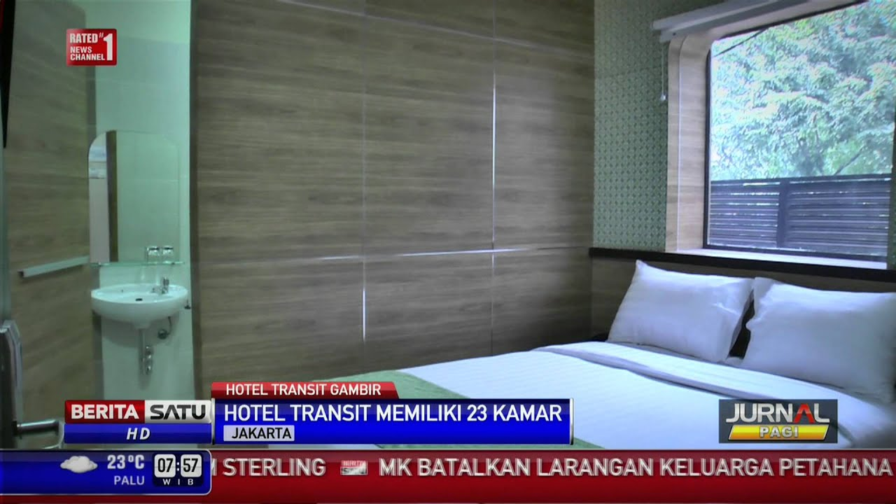 Yuk Lihat Fasilitas Hotel Transit Stasiun Gambir