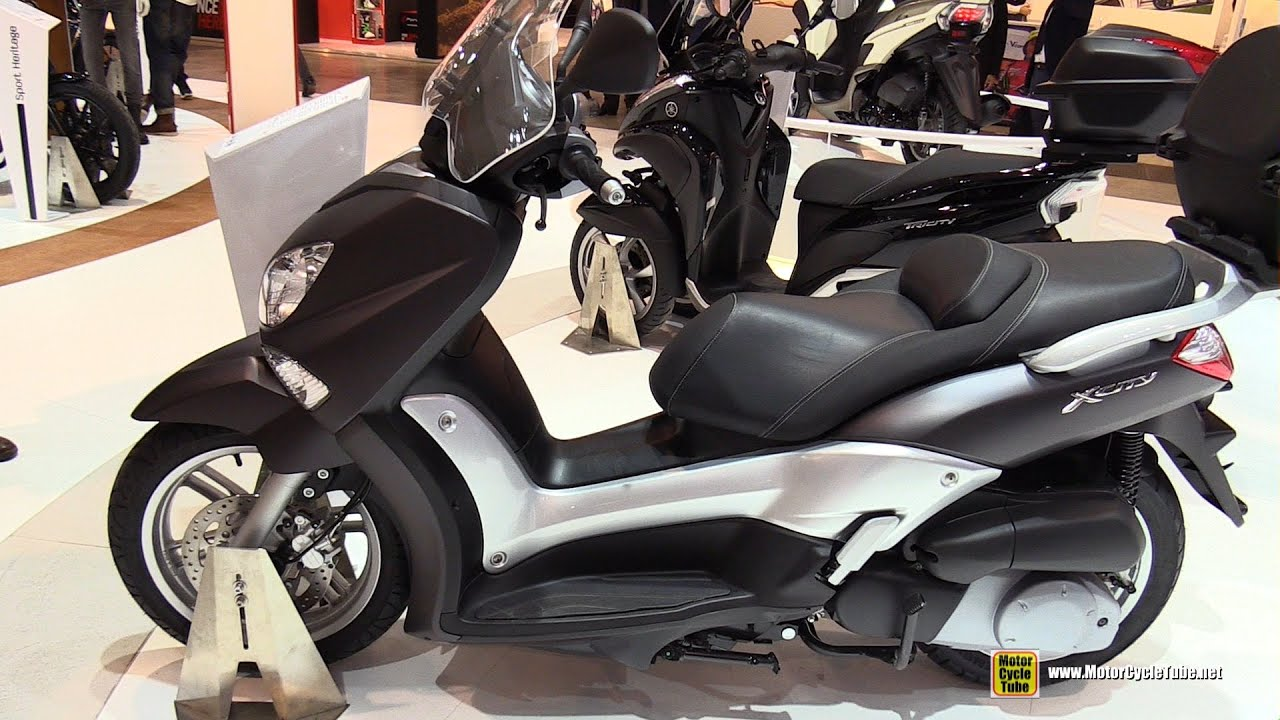 2016 yamaha x city 250 scooter walkaround 2015 eicma. Black Bedroom Furniture Sets. Home Design Ideas
