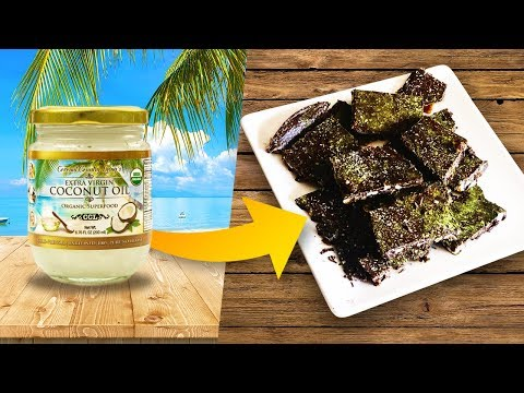 Turn COCONUT OIL Into Healthy & DELICIOUS Mouth-Watering CHOCOLATE!