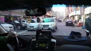 비즈카 i900 전방감지기 그랜드카니발 주행동영상