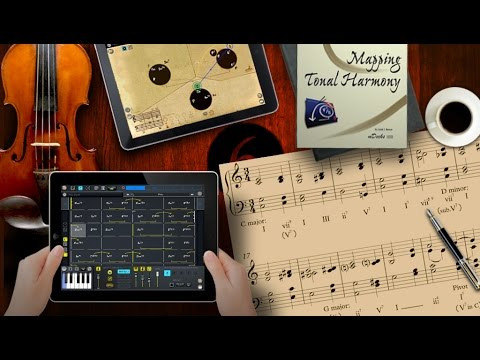 Best Tonal Harmony App for iPad. Mapping Tonal Harmony Pro 6