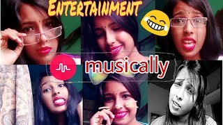 My First  [Musically] Video || Full On Masti And Entertainment Video