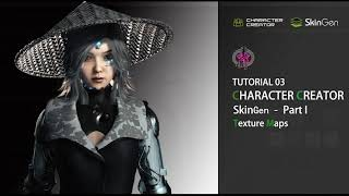 SkinGen Tutorial for Character Creator 3 - Part 1 Texture Maps