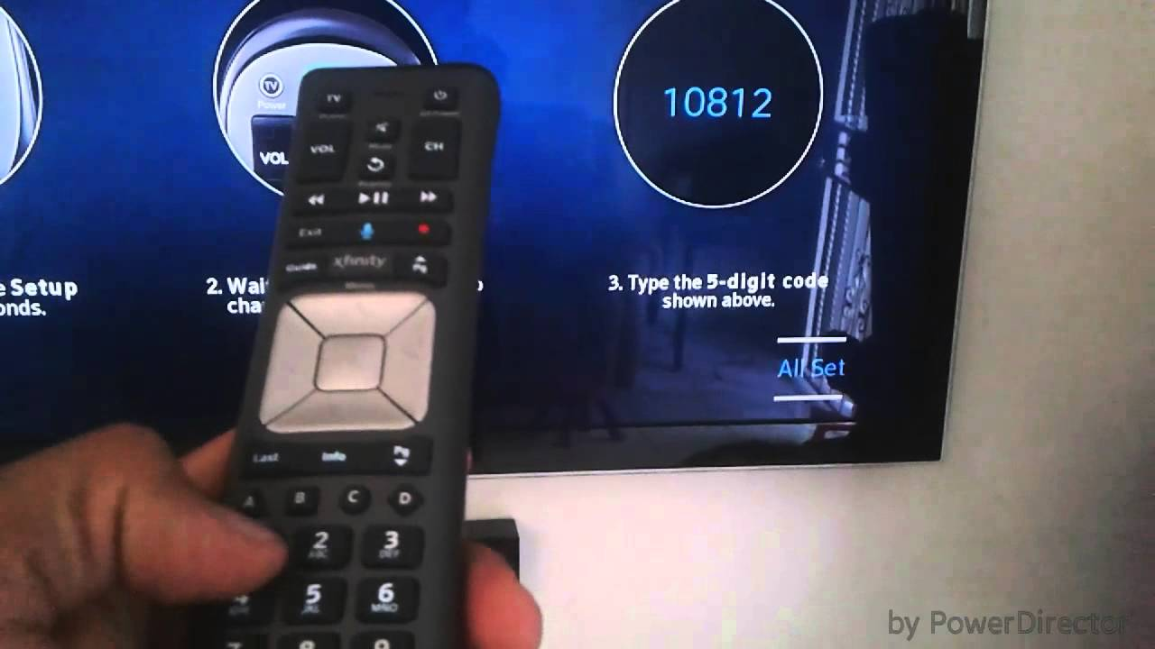Xfinity comcast control remoto conectarlo al tv