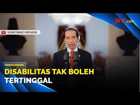 Jokowi: Tak Boleh Ada Disabilitas yang Tertinggal